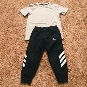 Boys adidas outfit